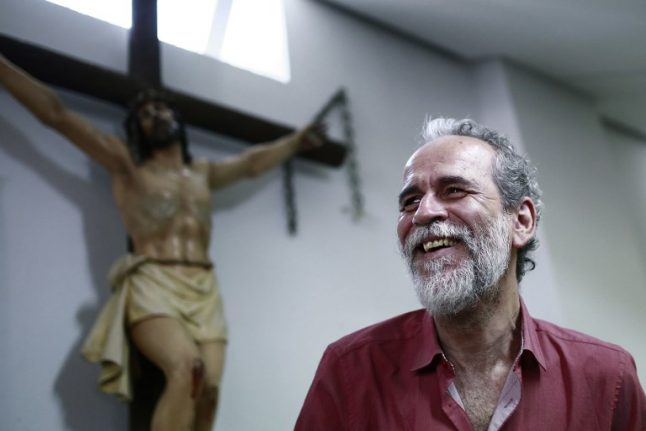 Spanish actor detained to face judge in row over 'blasphemous vagina'