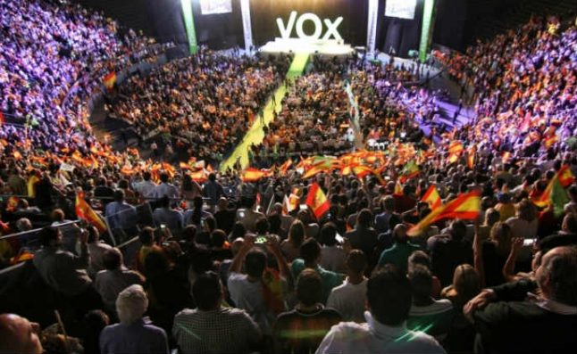 Thousands gather in Madrid for VOX far-right rally