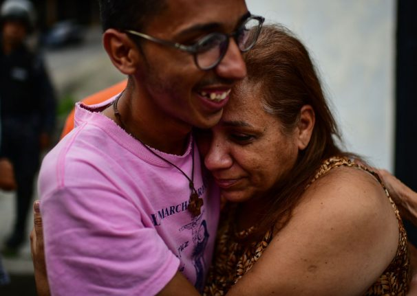 'First sunrise in years': freed Venezuela activist arrives in Madrid