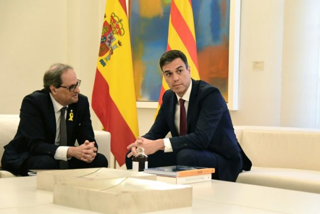 Catalonia appeals to Putin and Trump in bid for foreign mediation