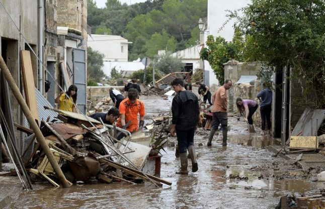 IN PICS: Smashed cars, strewn furniture and inches of mud after Mallorca floods