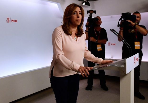 Spain's Socialists face first poll test in December