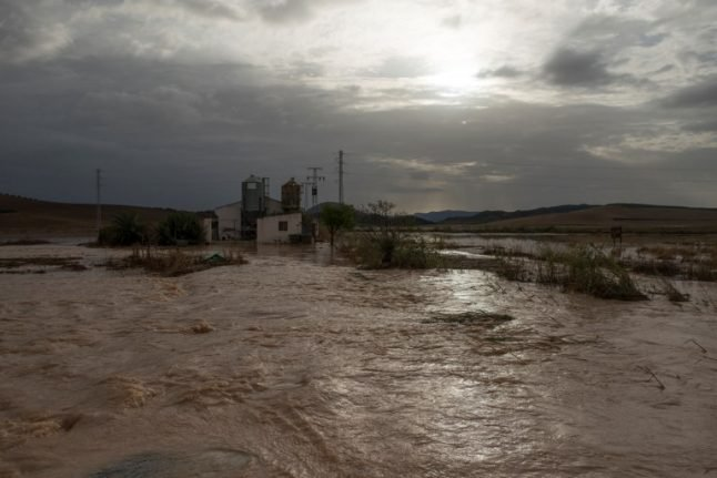 IMAGES: Southern Spain hit by worst floods in living memory