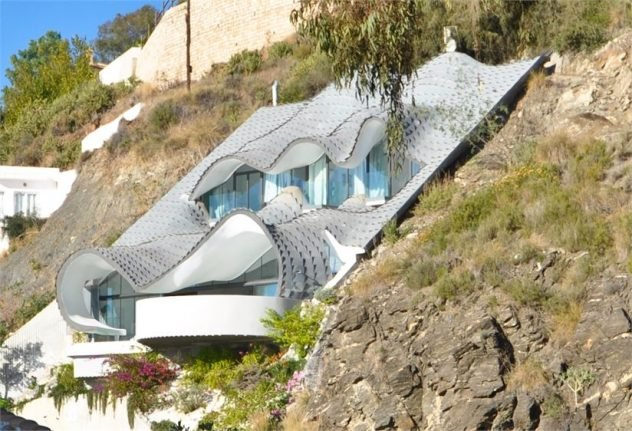 Property of the week: Spain's quirkiest clifftop house