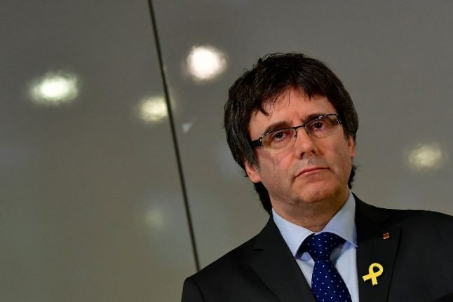 Is Carles Puigdemont about to win a Nobel Peace Prize?