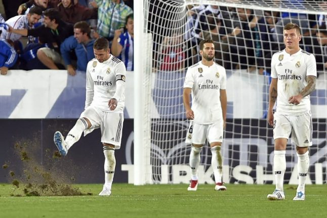 Five things going wrong at Real Madrid