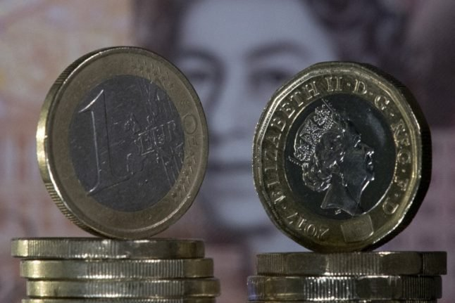 Pound tumbles against euro again as British ministers quit over Brexit deal