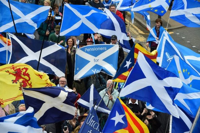 Spain says independent Scotland could join EU