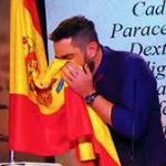 Spanish comedian in court for blowing nose on national flag