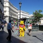 Pooh banned from Madrid for fear of offending Chinese President