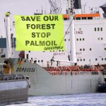Activists board ship off Spain in palm oil protest: Greenpeace
