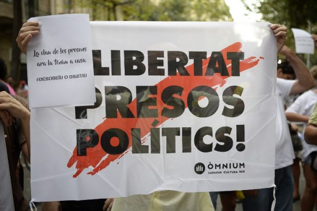 Jailed Catalan leaders call off hunger strike