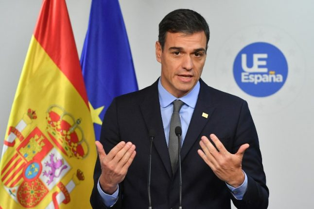 Spain PM to refer 2019 budget to parliament in January, risking early elections