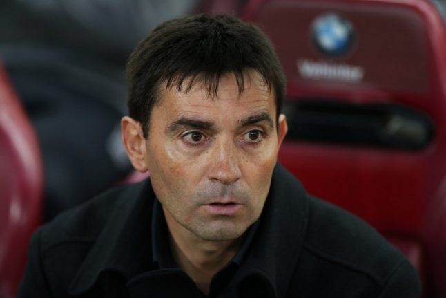 Real Sociedad sack manager and name local coach as replacement