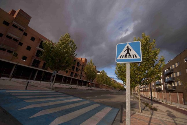 Spanish 'ghost towns' slowly come to life