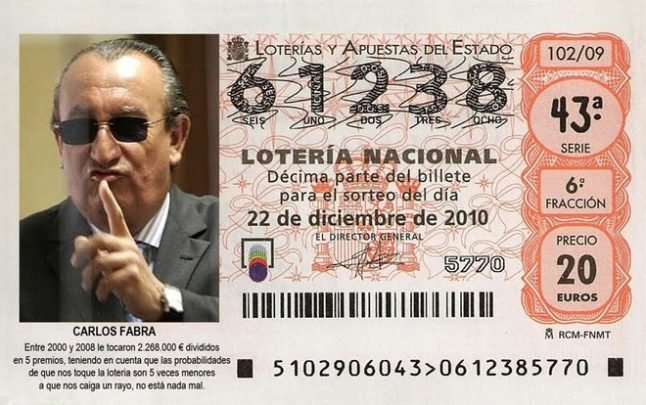 Murky money: When Spanish politicians were the lottery kings