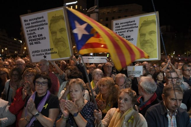 Protests planned ahead of Spanish government meeting in Barcelona