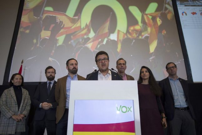 Spanish politics rocked by far-right win in Andalusia