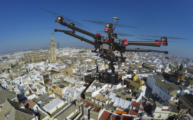 Narcos used drones to 'track' police in southern Spain