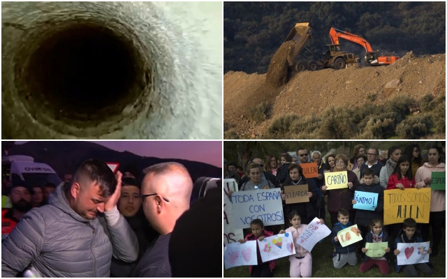 The images that tell the story of the hunt for missing Julen