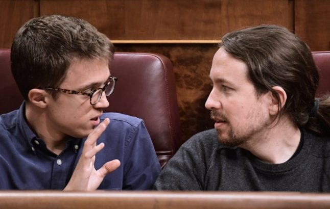 Elections loom but there's trouble at the top in Podemos