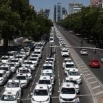 Madrid taxis will go on strike AGAIN on Monday