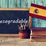 Spanish Word of the Day: 'Desagradable'