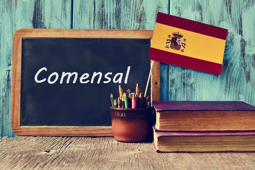 Spanish Word of the Day: 'Comensal'