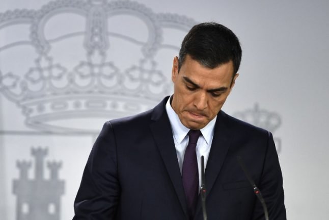 Spanish PM calls snap election after budget defeat