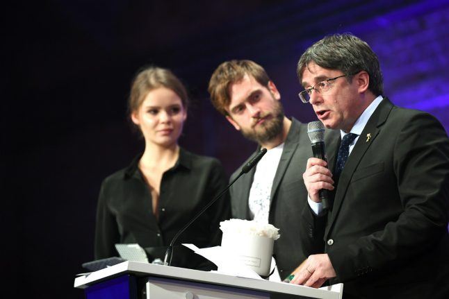 'It became a political rally': Catalonia documentary directors return German award