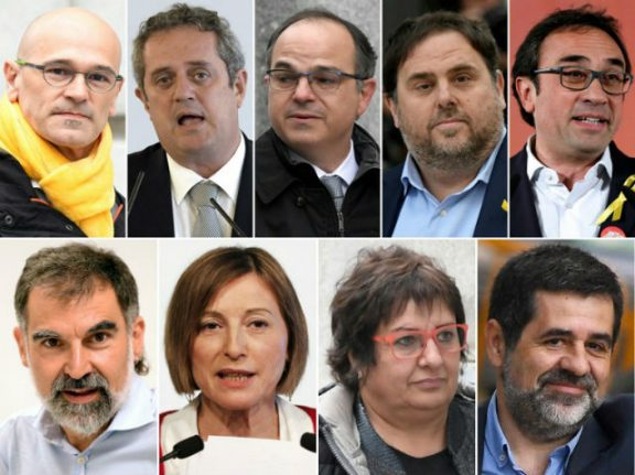Catalan separatists face long-awaited trial in Madrid