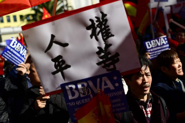 BBVA accused of racism after freezing bank accounts of hundreds of Chinese clients in Spain