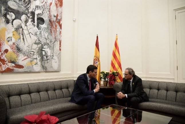 Madrid says talks with Catalan separatists 'stall'