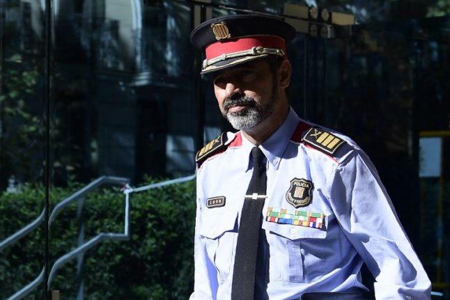 Catalan separatists' trial: Ex-police chief says he was ready to arrest Puigdemont