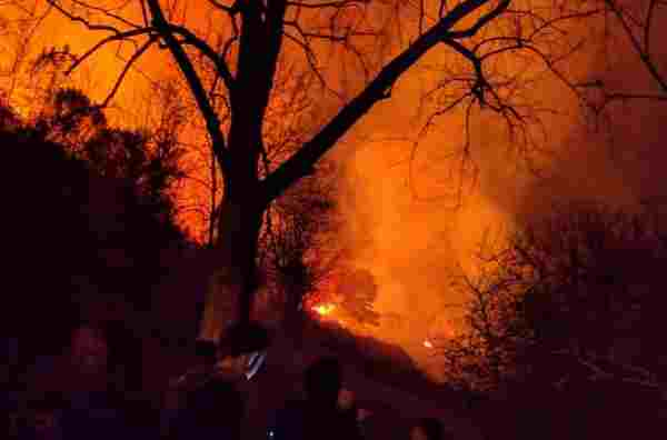 Wildfires rage across northern Spain in Asturias, Cantabria and Basque Country