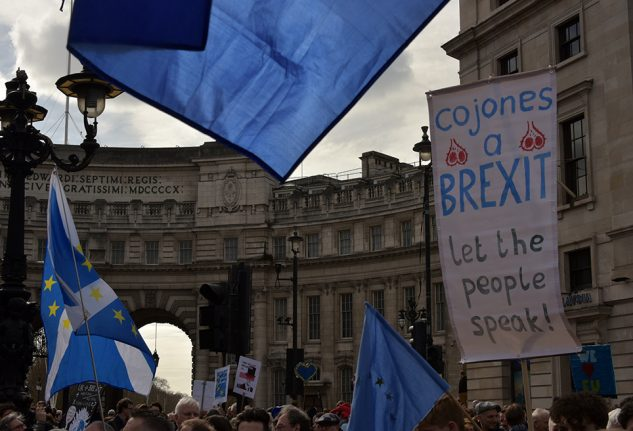 OPINION: Why we Britons in Spain had to march for a people's vote in London