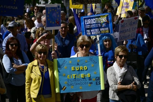 IN PICS: The best protest signs from Madrid's anti-Brexit march