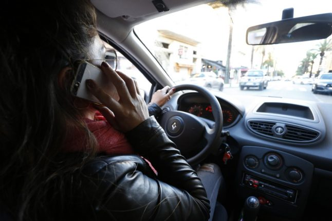Spanish police can now check mobile phones of drivers involved in crashes