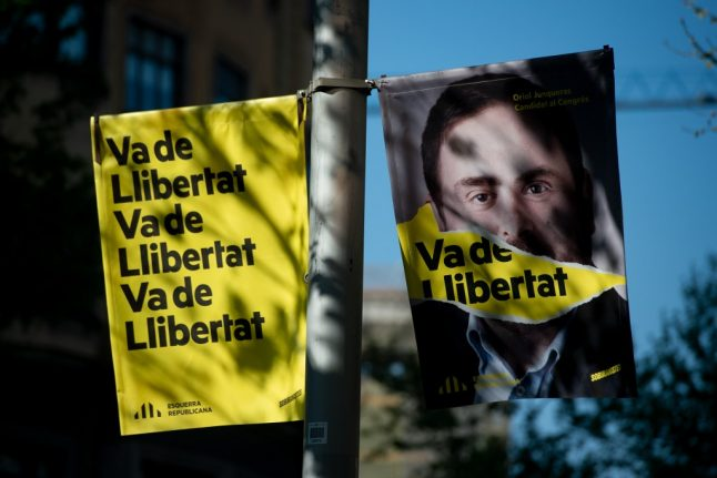 Jailed Catalan leader hints at support for Spanish PM to prevent far-right election win