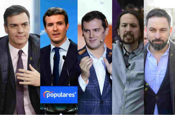 Who's who: What you need to know about Spain's five main electoral candidates