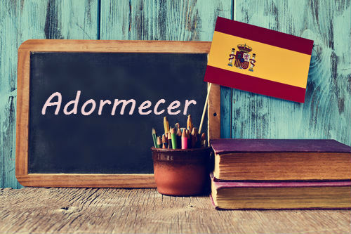 Spanish Word of the Day: 'Adormecer'