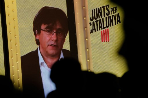 Puigdemont banned from standing in EU election