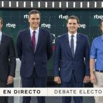 Spain PM clashes with rivals over Catalonia in election debate