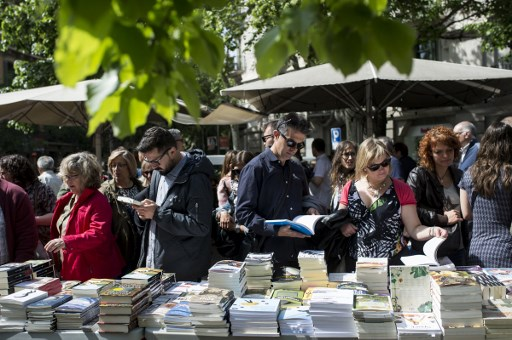 Barcelona's Sant Jordi Festival - What's it about and which books to buy in 2019?