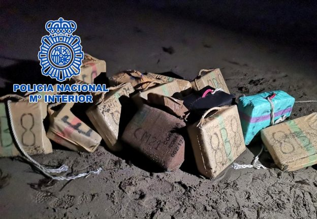 Hashish raids: Scores of police officers swoop on smugglers in southern Spain