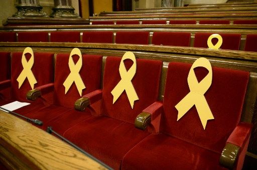 Jailed Catalan leaders permitted to attend parliament opening