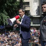 Hundreds of Venezuelans stage pro-Guaidó rally in Madrid
