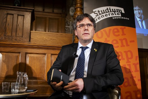 Puigdemont CAN run in EU polls, Spain's Supreme Court rules