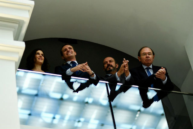 Madrid city hall swings to right with help of far-right