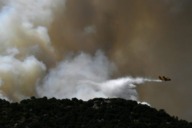Spain wildfire triggers more evacuations